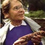 Barbara McClintock smiling photo