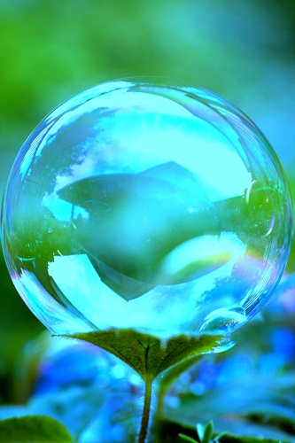 conversations crystal ball in nature